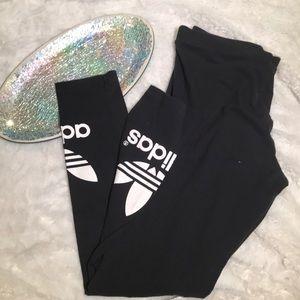 🛍 Adidas Leggings Black Medium